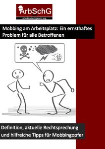 eBook zum Thema Mobbing